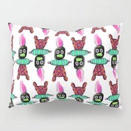 Voodoo Doll Pattern Pillow Sham