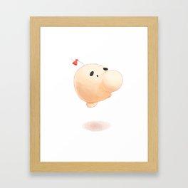 Mr. Saturn Framed Art Print