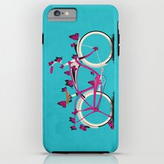 Butterfly Bicycle iPhone 6 Plus Tough Case