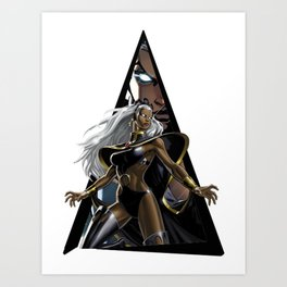 Youtriangle ∆ Storm Art Print