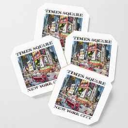 Times Square NYC (poster edition) Coaster