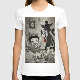 BETTY AND THE WOLF T-shirt