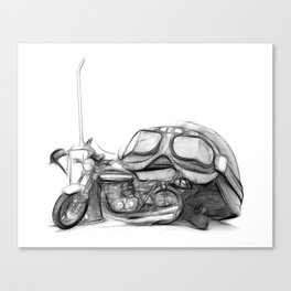 Cafe Racer II Canvas Print