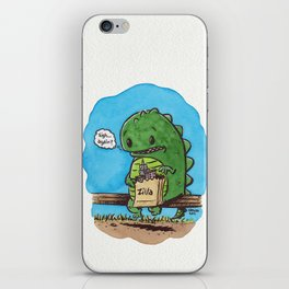 """""""lunch in the city"""" iPhone Skin"""