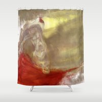 queen Shower Curtains featuring Queen by Roux