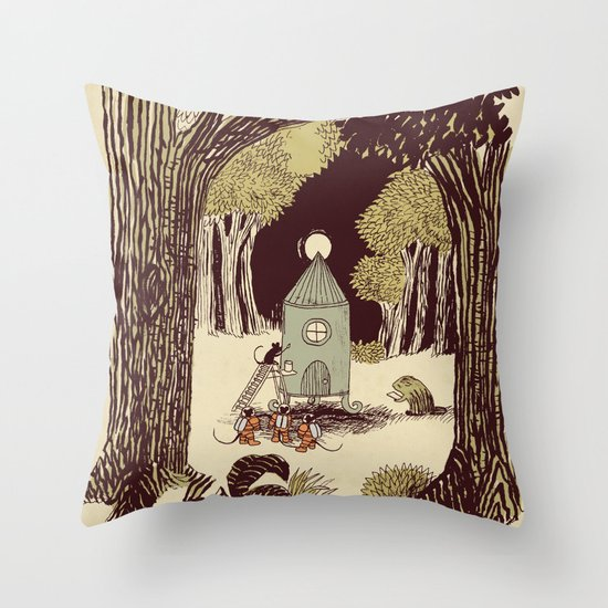 In the Clearing Throw Pillow
