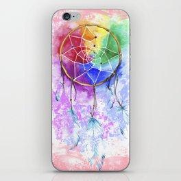 "dreamcatcher ""cotton candy"" iPhone Skin"