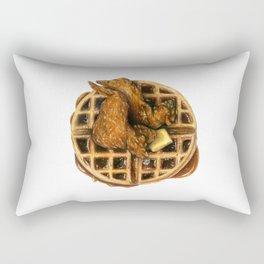 Chicken and Waffles Rectangular Pillow