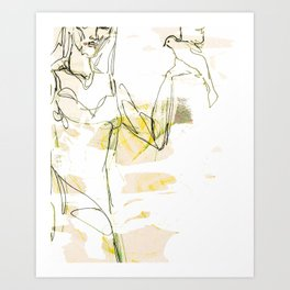Geist Art Print