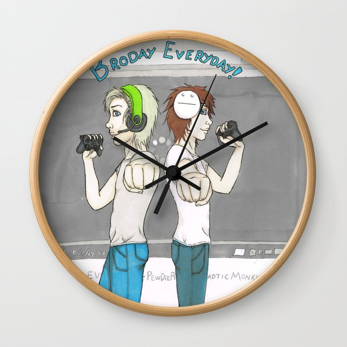 Broday Everyday Wall Clock
