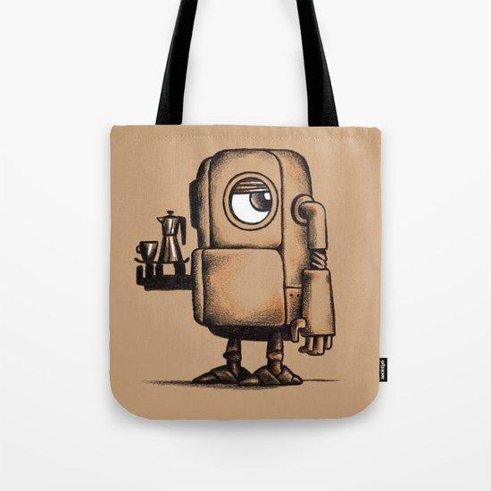 Robot Espresso #1 Tote Bag