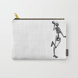 Dancing Skeleton Carry-All Pouch