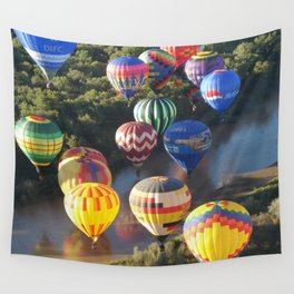 Flame Glow Float Wall Tapestry