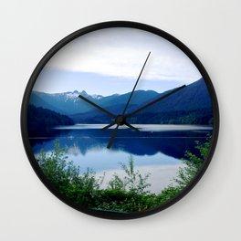 Beautiful Mountain side Wall Clock