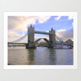 Tower Bridge #2 Art Print