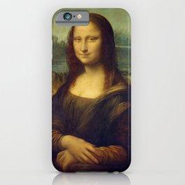 Mona Lisa by Leonardo da Vinci iPhone Case