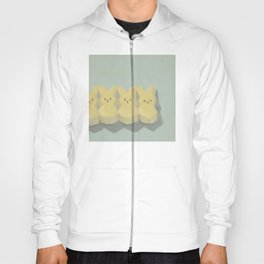 Peeps Original Oil Painting Hoody