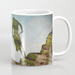 Biking Off Road Coffee Mug
