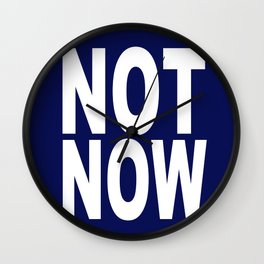 Read Before Approaching Wall Clock