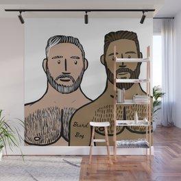 Beard Boy: Daddy & Son Wall Mural