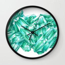Vivid Green Wall Clock