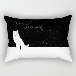 Find Yourself Rectangular Pillow
