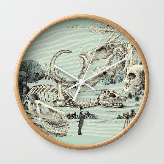 The Lost Beach Wall Clock