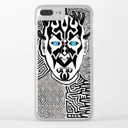 Maul da Jedi Master (Darth Maul) Clear iPhone Case