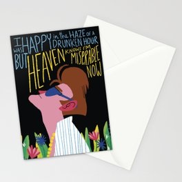 The Smiths - Heaven knows I'm miserable now Stationery Cards