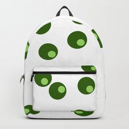 green dots Backpack