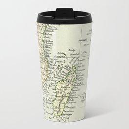 Vintage Map of Africa Travel Mug