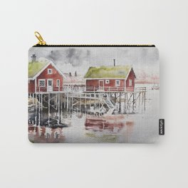 Rorbu huts in Norway Carry-All Pouch