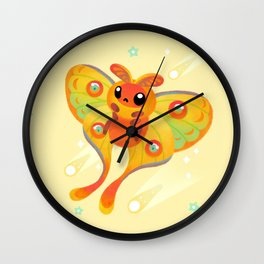 Comet Moth Wall Clock