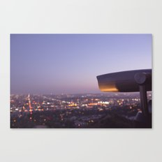 Angel City Lights, L.A. at Night, No. 3 Canvas Print