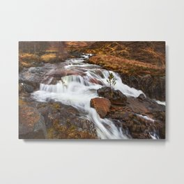 Scottish Falls. Metal Print