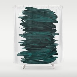 Abstract Minimalism #3 #minimal #ink #decor #art #society6 Shower Curtain