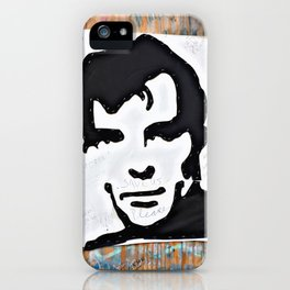 """HERE'S TO THE CRAZY ONES""/Jack Kerouac iPhone Case"