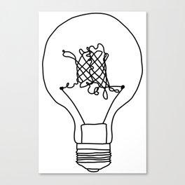 GFP is a bright idea Canvas Print