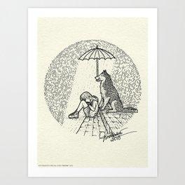 Boy - Husky - Destiny Art Print