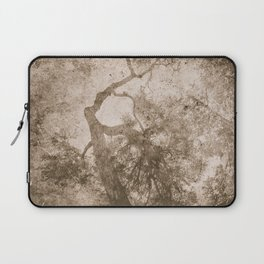 Vintage delicate tree pattern Laptop Sleeve