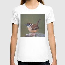 Jenny Wren Perching T-shirt