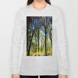 Summer slips into fall Long Sleeve T-shirt