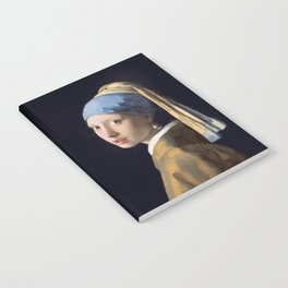 Girl With a Pearl Earring - Vermeer Notebook