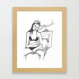 Magazine Framed Art Print