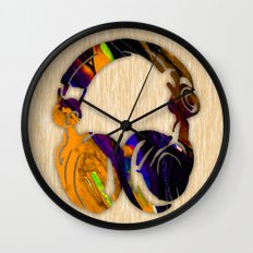 Headphones Wall Clock