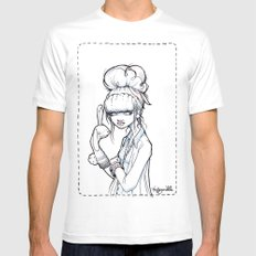 The Puppet Master Mens Fitted Tee MEDIUM White