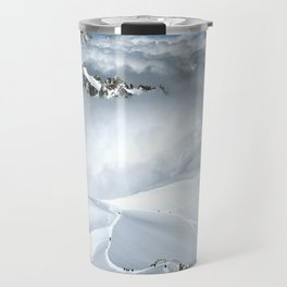 French Alps Mountaineers Travel Mug