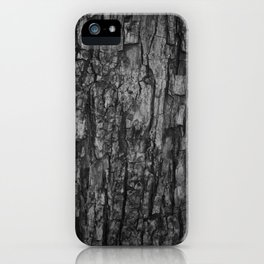 Bark VI Monochrome iPhone Case