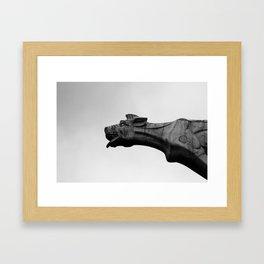 Gargoyle Framed Art Print
