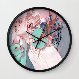 Scatterling Wall Clock